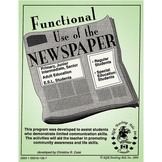 FUNCTIONAL USE OF THE NEWSPAPER Gr. 3+