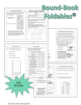 Algebra 2: Using Linear Models