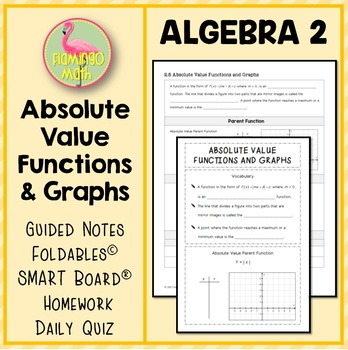 Algebra 2: Absolute Value Functions and Graphs
