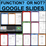 FUNCTIONS GOOGLE SLIDES Interactive ONLINE DISTANCE LEARNI