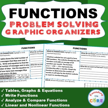 problem solving with linear functions