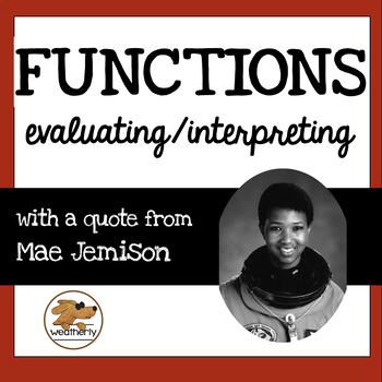 FUNCTIONS - evaluating and interpreting / BLACK HISTORY