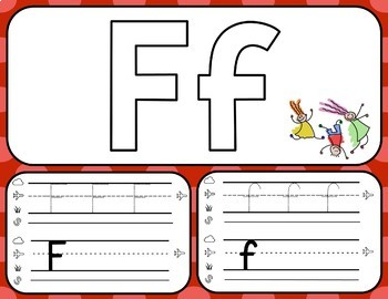 FUNDATIONS Letter Formation Playdough Mats