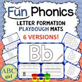 Fundationally FUN PHONICS Letter Formation Playdough Mats