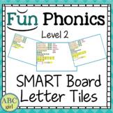 2nd Grade FUNDATIONS Level 2 SMART Board Letter Tile Sound Card Display
