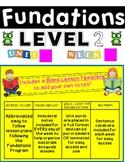 FUNDATIONS Level 2 Unit BUNDLE