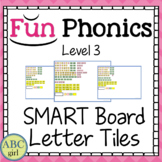3rd Grade Fundationally FUN PHONICS Level 3 SMART Board Letter Tile Sound Cards