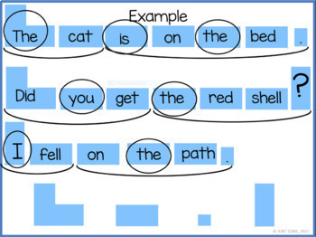 Fun Phonics Smart Board Sentence Frames