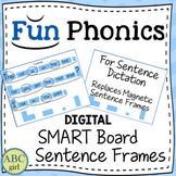 Fundationally FUN PHONICS Smart Board Sentence Frames