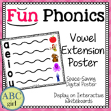Fundationally FUN PHONICS Vowel Extension Chart