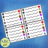 Fundationally FUN PHONICS Vowel Extension Charts Individua