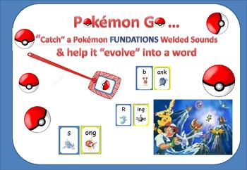 """WELDED SOUNDS (glued sounds)-Pokémon Go! """"Catch"""" a Pokémon & help it """"evolve"""" ."""