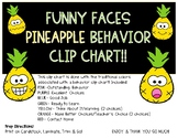 FUNNY FACES PINEAPPLE Clip Chart