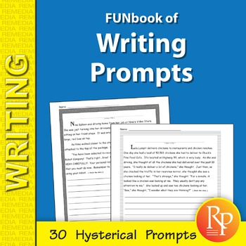 FUNbook of Creative Writing Prompts