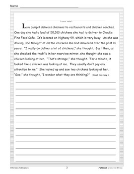 Creative Writing Prompts: FUNbook of Clever & Comical Story Starters