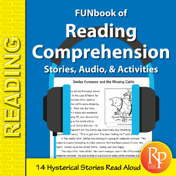 FUNbook of Reading Comprehension (Stories, Audio, & Activities)