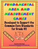 FUNdamental Area and Measurement Games