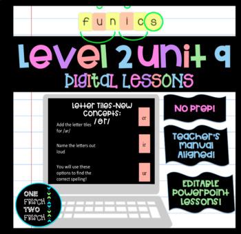 FUNdational FUNics Level 2 Unit 9 Lessons (No Prep! Teacher's Manual Aligned!)