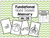 FUNdational Phonics - Glued Sounds Memory with BONUS Glued