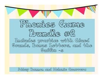 Grade 1 Phonics Games Bundle #2