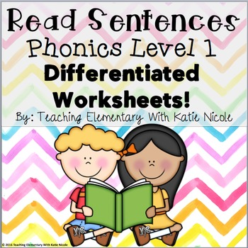 First Grade Differentiated Worksheets: Read & Find Trick/Sight Words!