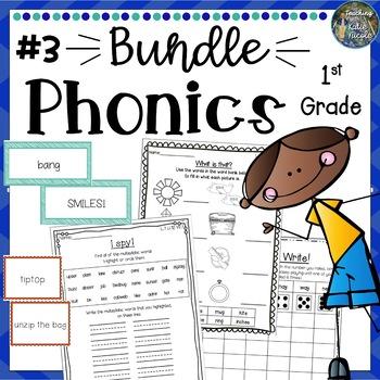 1st Grade Phonics: Mega Bundle 3
