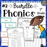 1st Grade Phonics: Mega Bundle 3