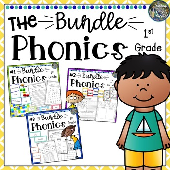 Phonics Level 1 Edition 2 Resources & Activities: THE Bundle - All Units