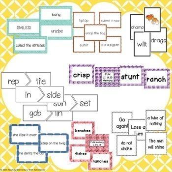 1st Grade Phonics Resources & Activities: THE Bundle