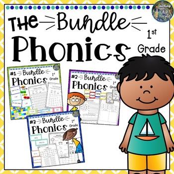 Year Long First Grade Phonics Bundle