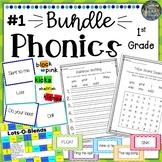 1st Grade Phonics Resources & Activities: Bundle 1
