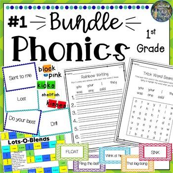 1st Grade Phonics Bundle 1