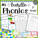 1st Grade Phonics Resources & Activities: Bundle 1