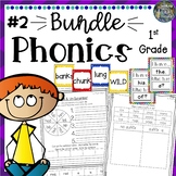 Phonics First Grade: Mega Bundle 2