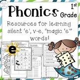 1st Grade Phonics Silent e Words