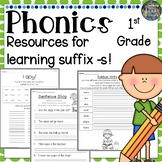 1st Grade Phonics: Resources for learning words with the S