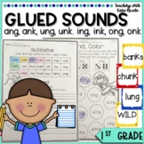 1st Grade Phonics Glued Sounds