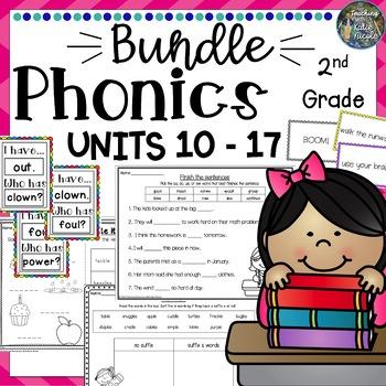 Phonics Level 2, Resources & Activities: Mega Bundle TWO Units 10-17