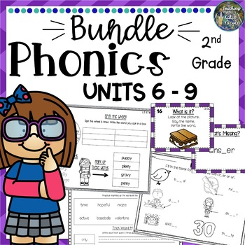 2nd Grade Phonics Mega Bundle 3: Units 6-9
