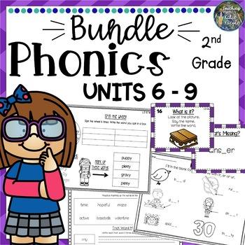 2nd Grade Phonics Mega Bundle 3