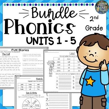Phonics Level 2 Mega Bundle 4: Units 1-5