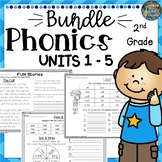 2nd Grade Phonics Mega Bundle 4
