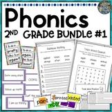 2nd Grade Phonics Resources & Activities: Bundle 1