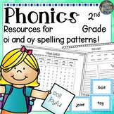 2nd Grade Phonics: Resources for learning 'oi' and 'oy' spelling patterns