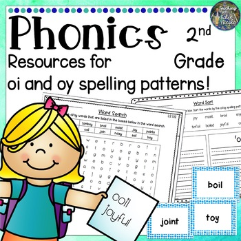 Exciting resources for learning 'oi' and 'oy' spelling patterns!