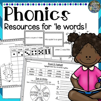 2nd Grade Phonics: Resources for learning -le words!