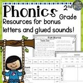 2nd Grade Phonics: Resources for bonus letters & glued sounds!
