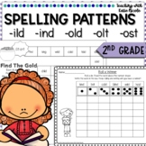 2nd Grade Phonics: Resources for glued sounds: ild, ind, ost, old, lot!
