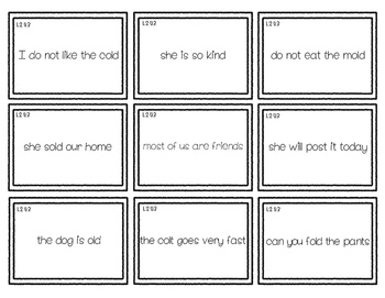 2nd Grade Phonics: Resources for glued sounds: ild, ind, ost, old, lot!
