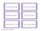 Phrase Cards for practicing R Controlled Vowels!